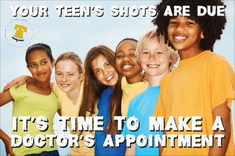 Your Teen's Shots Are Due